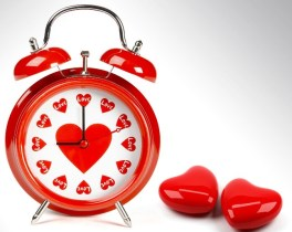 Time To Love And Red Heart